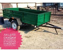 Практичный универсальный прицеп Днепр-210х130х50 и другие модели с доставкой по Украине!