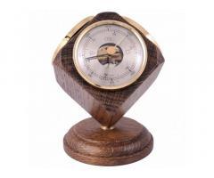 Термометр-гигрометр-барометр в деревяном корпусе Германия