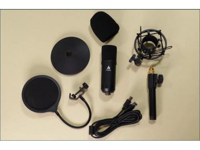 Профессиональный Студийный USB микрофон Maono AU-A04ТС + видеообзор - 3/5