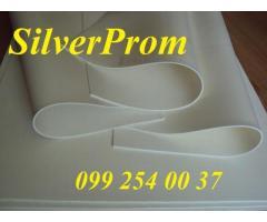 Листовая силиконовая резина в рулонах