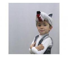 Новогодний костюм Петрушка Волк. Козленок. МышонокБуратино