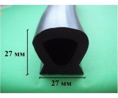 Морозостойкий уплотнитель заднего борта мусоровоза Код 2.35