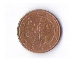 Продам недорого монету Евросоюза, номиналом 5 центов. Выпуск 2002 года.