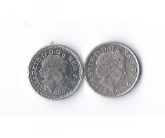 Продам недорого монетыАнглии,номиналом 5 пенсов.