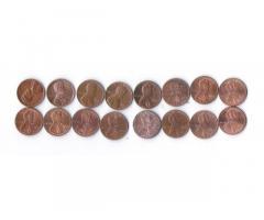 Продам недорого монеты США номиналом 1 цент