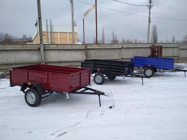 Новый прицеп автомобильный Днепр-250х130х50 и другие модели прицепов - 1/1