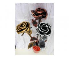 Кована троянда. Кованые розы ручной роботы. Ексклюзивний подарунок.