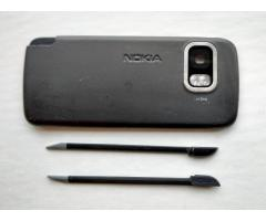 Задня панель + стилус (2 шт.) від Nokia 5800 (оригінальні) - Изображение 1/2