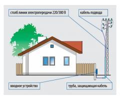 Подключение электричества к жилому дому или участку в Днепре