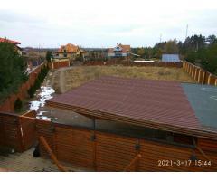 Современный дом с плоской кровлей 90м2. Ясногородка, Житомирская трасса, 28км