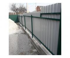 Установлюєм паркани ворота під ключ