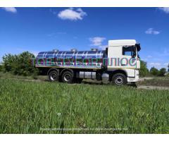 Автоцистерни, водовози, рибовоз, молоковози та інші асенізаторні машини. вування
