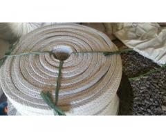 Асбо-стекловолоконный уплотнительный шнур для дверцы котла и печи.