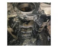Блок цилиндров двигателя Мазда 323 2.0тд