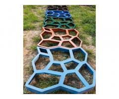 Форма для садовой дорожки Запорожье Садовая дорожка из бетона в Запорожье