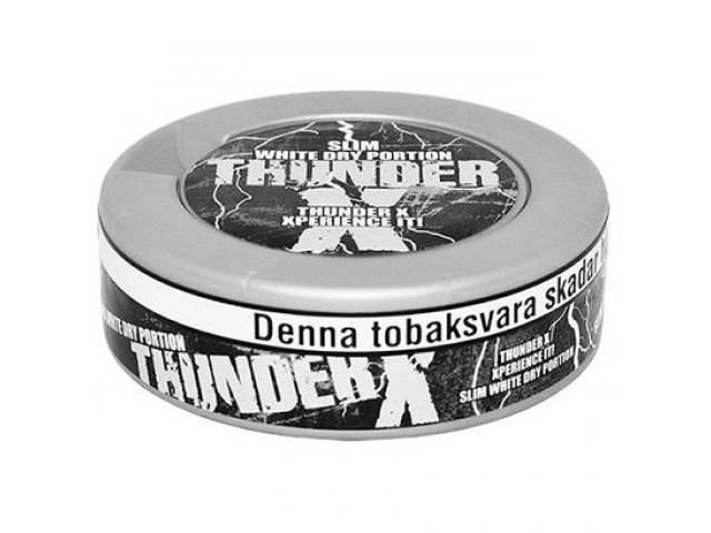 Снюс Тандер, Thunder X slim - 1/2