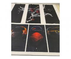 Печать рулонная Сублимация Синтетические ткани