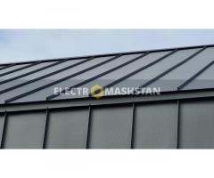 Автоматизована лінія виробництва фальцевих картин для фасаду та даху
