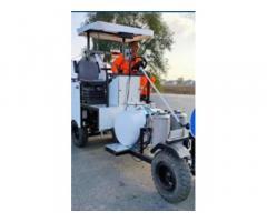 Машина розмічальна для нанесення холодного пластику та фарби - Road marking S.A