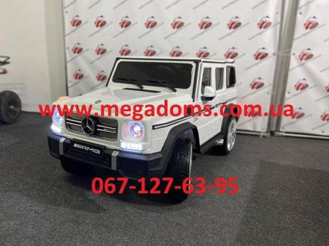 Джип Mercedes-Benz AMG M 3567EBLR 2 мотора 35W, аккумулятор 12V10AH до 30кг - 3/7