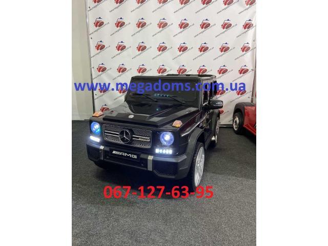 Джип Mercedes-Benz AMG M 3567EBLR 2 мотора 35W, аккумулятор 12V10AH до 30кг - 4/7