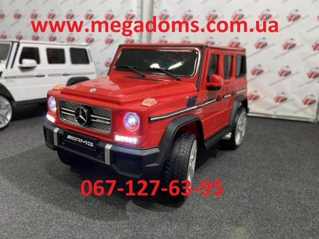 Джип Mercedes-Benz AMG M 3567EBLR 2 мотора 35W, аккумулятор 12V10AH до 30кг - 5/7