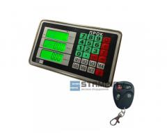 Весовой индикатор с пультом коррекции на 4 кнопки
