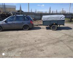 Купить авто прицеп Днепр-201 и другие модели! Тент в подарок