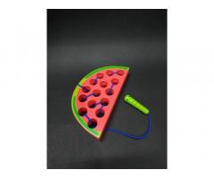 Деревянная игрушка Шнуровка фрукты