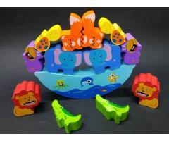 Деревянная игрушка Балансир Животные
