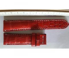 Ремешок для часов из натуральной кожи крокодила 20мм 18мм.