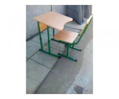 Школьная парта, парта регулируемая. школьный стул. С 1 по 11 класс