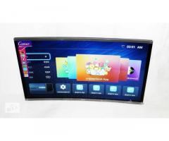 Телевизор Comer 32« Изогнутый LCD LED Smart TV, WiFi, 1Gb Ram, 4Gb Rom, T2, USB/SD, HDMI, VGA, Andro