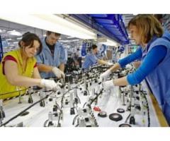 Рабочие производственных линий