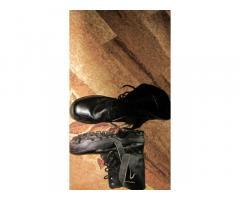 Берцы мужские кожаные 45 размер