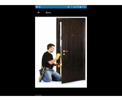 Установлю входные двери, окна, металлопластиковые двери.