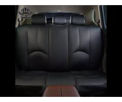 Кожаные автомобильные чехлы на сидение в авто Ваз BMW AUDI Комплект