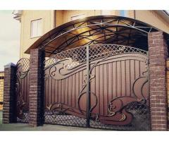 Художественная ковка - кованые решетки, ворота, заборы, перила в Днепре