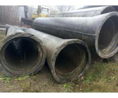 Трубы,Лотки,Плиты бетонные, железобетонные,ж/б, разных диаметров,б/у.