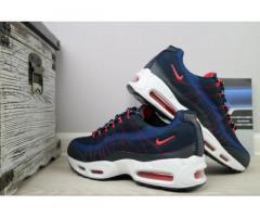Мужские кроссовки Nike AirMax 95 Синий/красный
