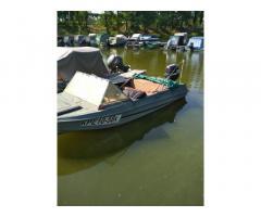 Продам лодку с мотором Сузука 50