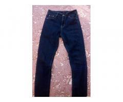 Продам женские джинсы скини, одевались 1 раз