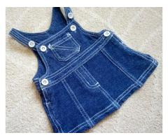 Стильный джинсовый сарафан платье Zeeman на 1-3 мес