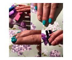 Наращивание ногтей/Покрытие гель лаком/Европейский маникюр (аппаратный маникюр)