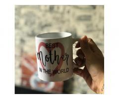 Печать на чашечках на подарок маме)