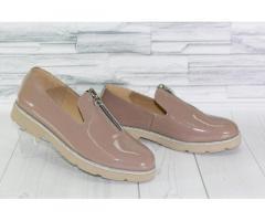 Натуральная кожа. Стильные лаковые туфли 1846 - Изображение 1/3