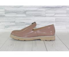 Натуральная кожа. Стильные лаковые туфли 1846 - Изображение 2/3