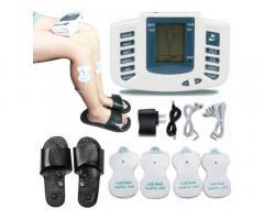 Масажер електростимулятор точечний для тіла і стоп - Electronic Pulse Massager JR-309A, тапоч