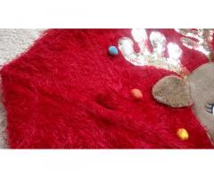 Новогодний рождественский светящийся свитер кофта F&F на 2-3 года травка - Изображение 4/11