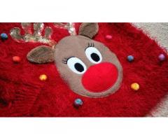 Новогодний рождественский светящийся свитер кофта F&F на 2-3 года травка - Изображение 6/11